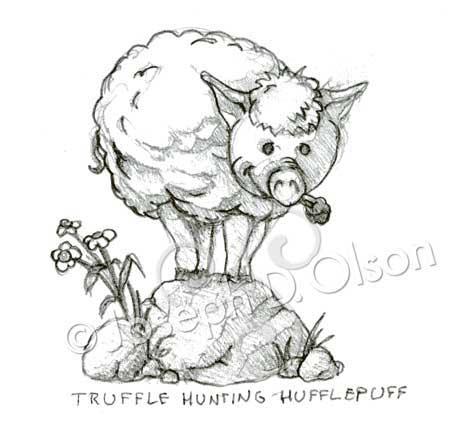 Truffle Hunting Hufflepuff